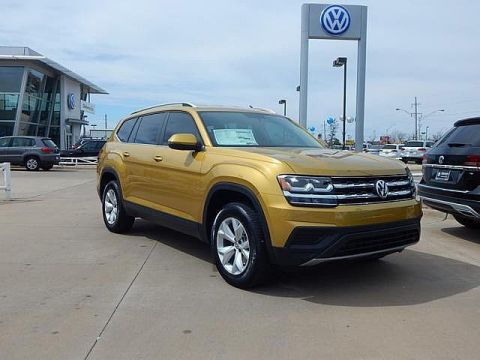 New 2018 Volkswagen Atlas S 4Motion