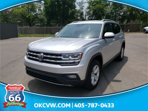 Certified Pre-Owned 2018 Volkswagen Atlas SE w/Technology and 4Motion